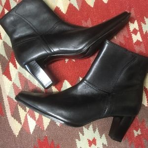 Bass Leather Ankle Boots